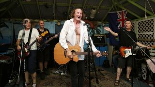 A shot of John Otway live