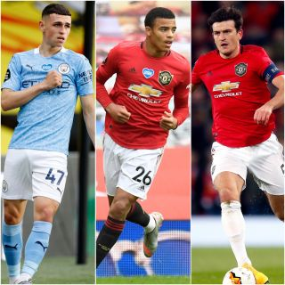 Foden, Greenwood, Maguire
