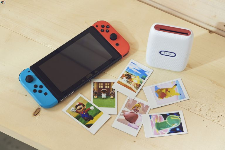 instax mini Link for Nintendo Switch printer