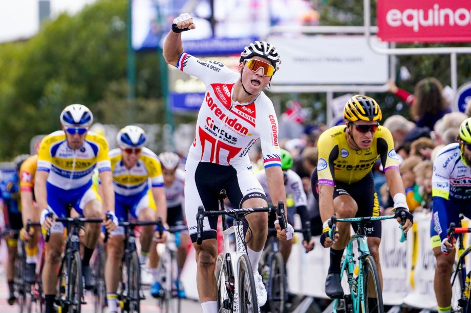 'Can I become world champion? Maybe, you have to believe': Mathieu van der Poel wins first race after four month absence from the road
