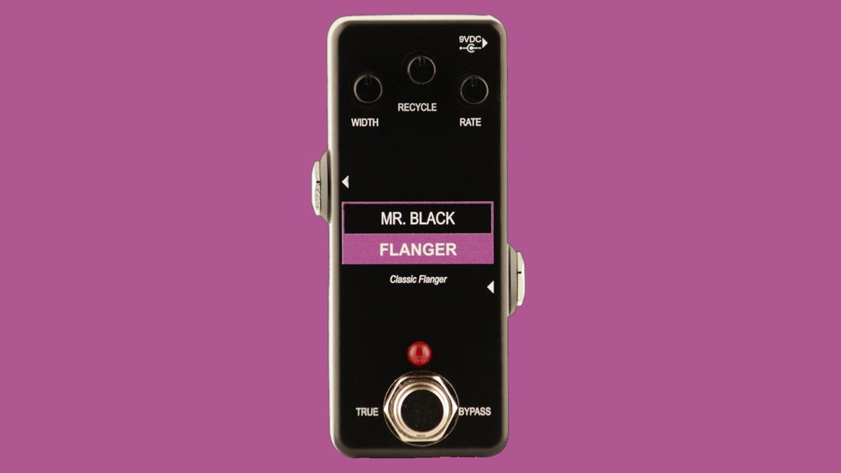 Mr. Black crams old-school BBD-style tones into the $99 Mini Flanger
