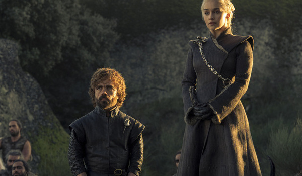 hbo game of thrones tyrion dany