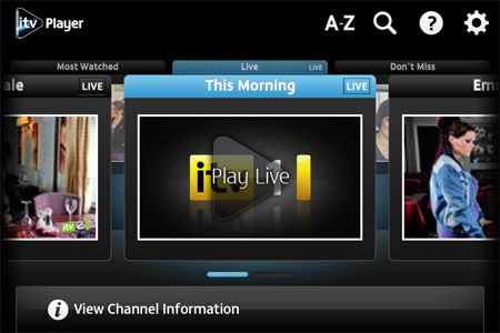 ITV Player adds live streaming and AirPlay to iOS app | What Hi-Fi?