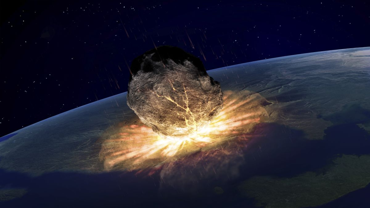 What happened when the dinosaur-killing asteroid slammed into Earth?