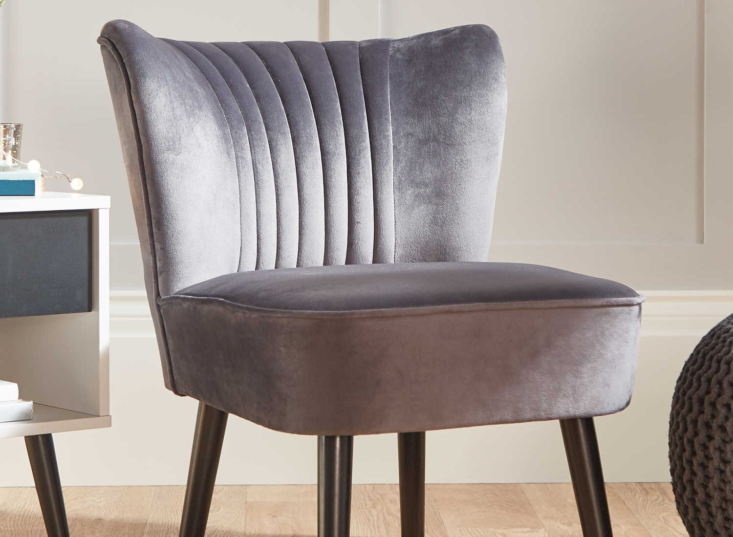 Aldi is selling a designer-style velvet chair and it's surprisingly affordable