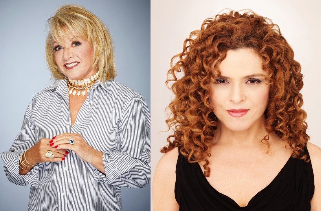 Elaine Paige and Bernadette Peters