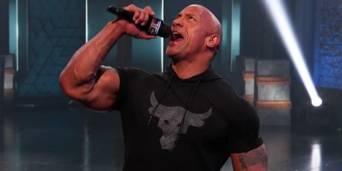 "Dwayne ""The Rock"" Johnson on The Titan Games"