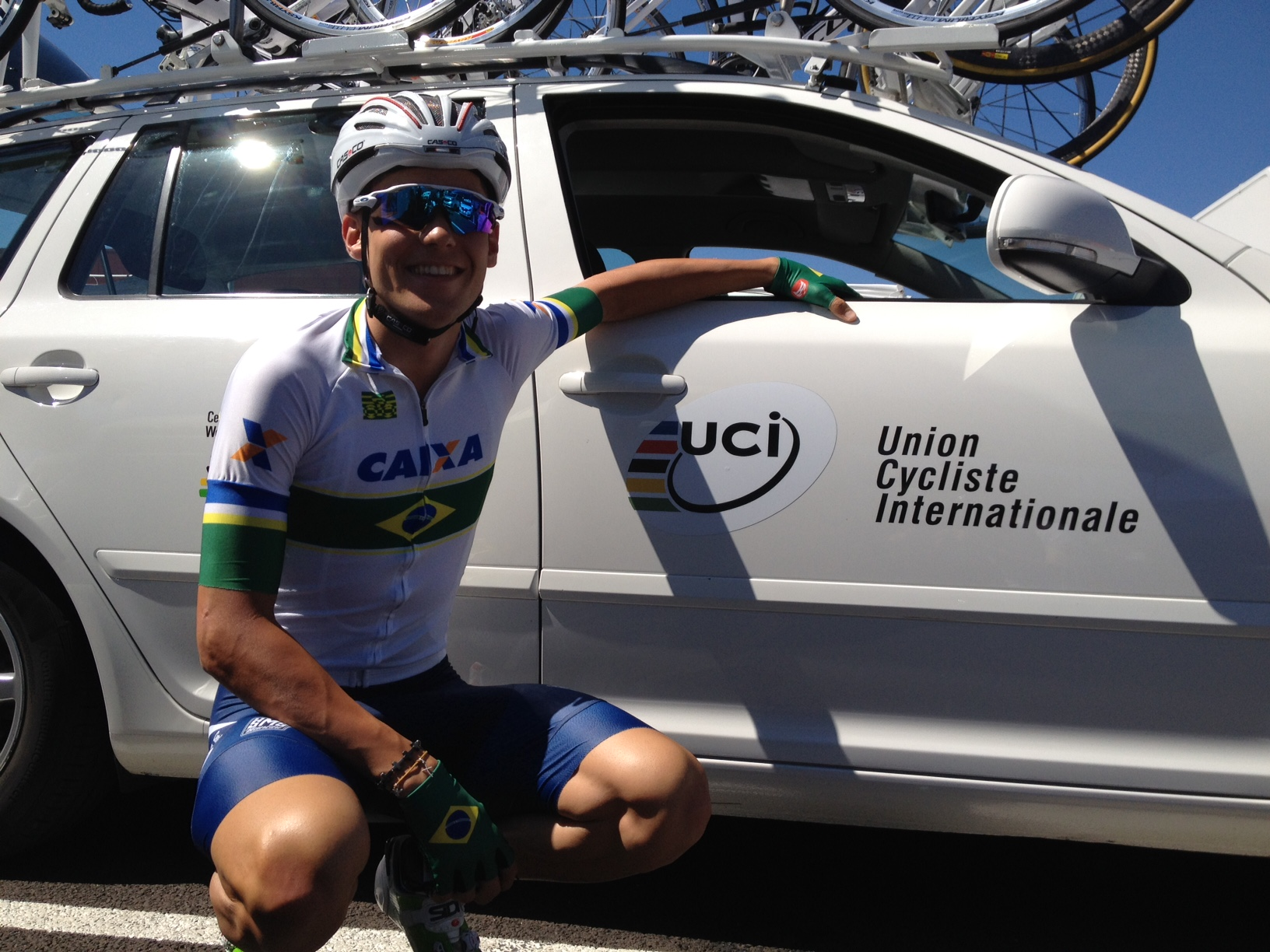 Godoy wants to add some Brazilian flavour to pro peloton