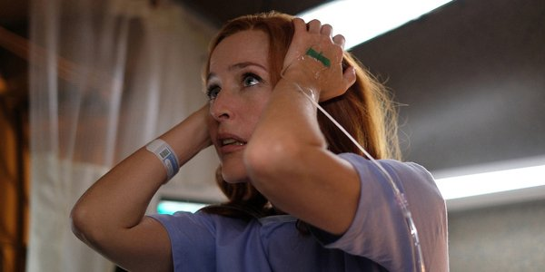 the x files season 11 premiere scully hospital