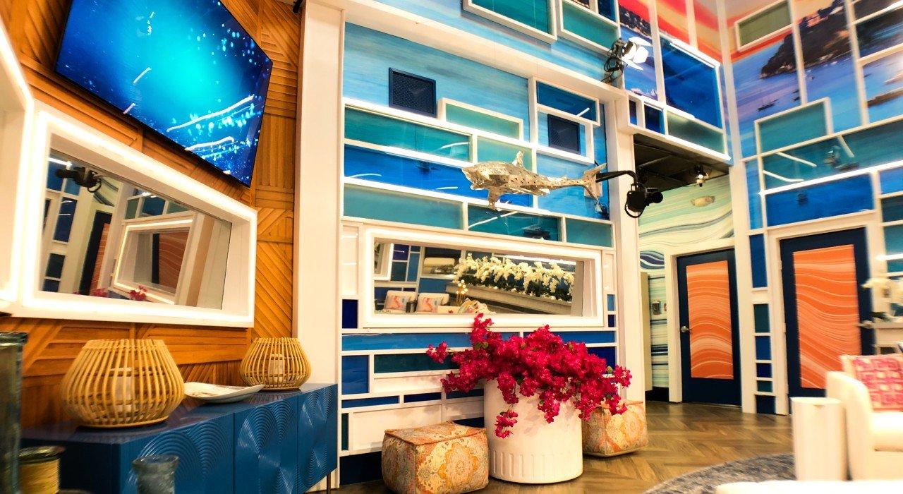 Living Room Big Brother CBS