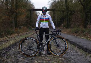Anna van der Breggen (Boels Dolmans) 2019 - Forest of Arenberg, Paris-Roubaix