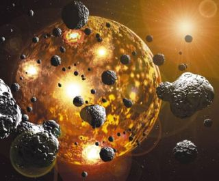 Asteroids with precious metals