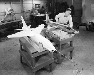 space history, NACA, NASA, wind tunnel testing