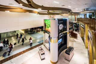 The Dallas/Fort Worth International Airport Duty Free Store and terminals utilize audio system capable of producing paging messages, live announcements and safety alerts integrated by Ford Audio-Video Systems.