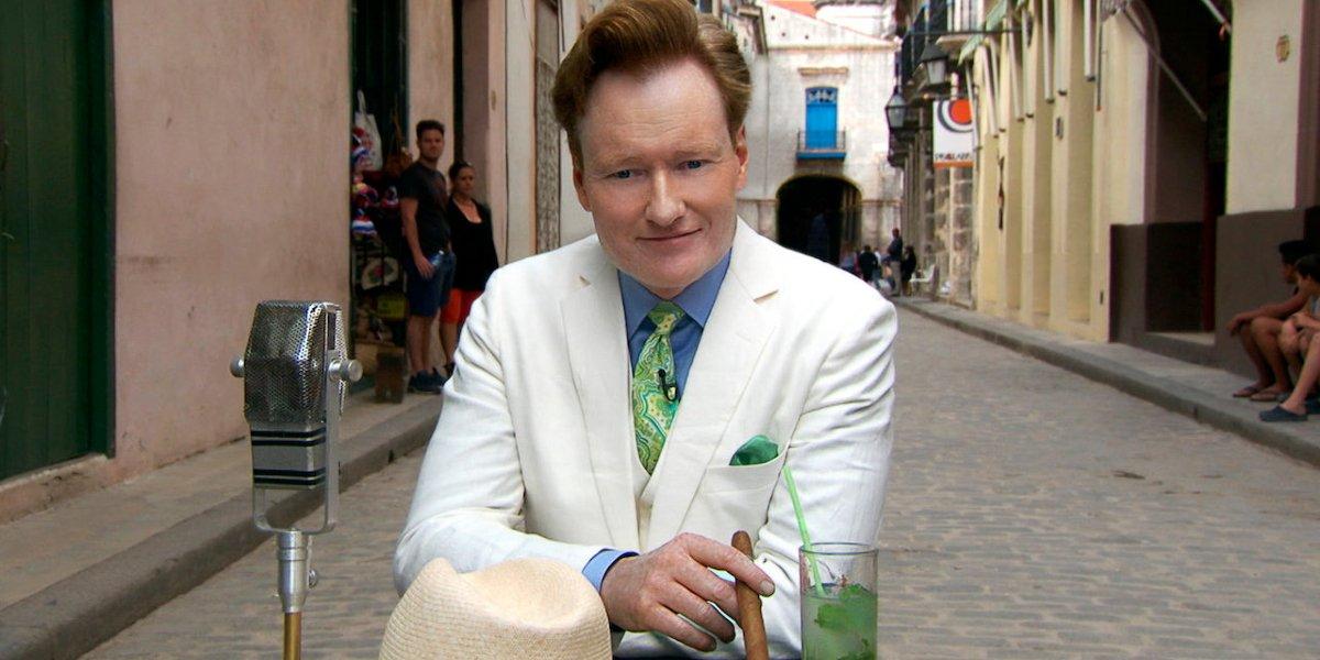 Conan O'Brien on Conan Without Borders