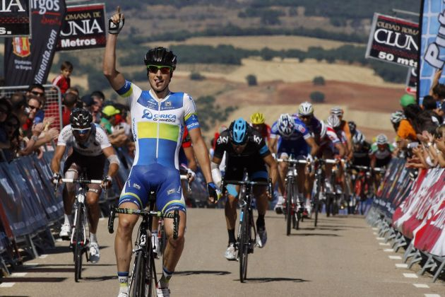 Jens Keukeleire takes stage glory, Vuelta a Burgos 2013, stage two