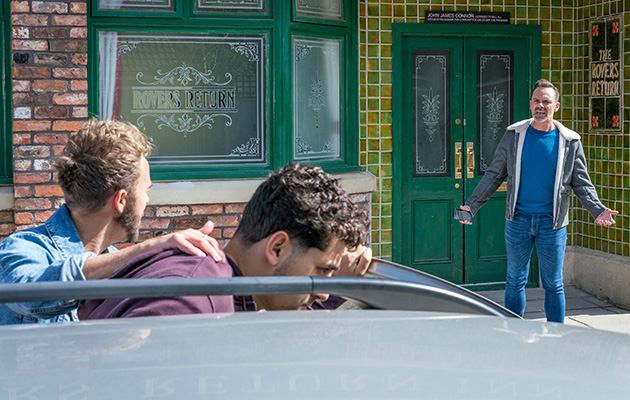David Platt bundles Josh into his car
