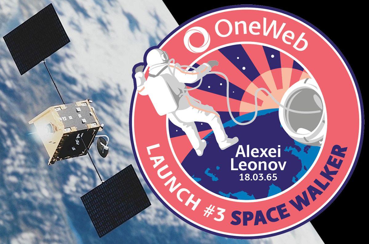 OneWeb dedicates satellite launch to first spacewalker Alexei Leonov