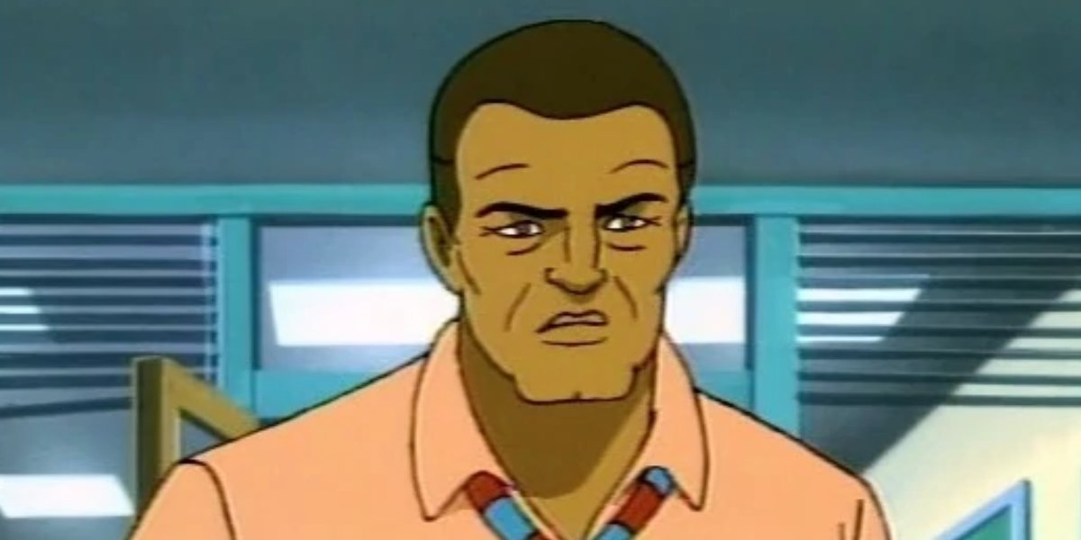 Robbie Robertson on Spider-Man: The Animated Series