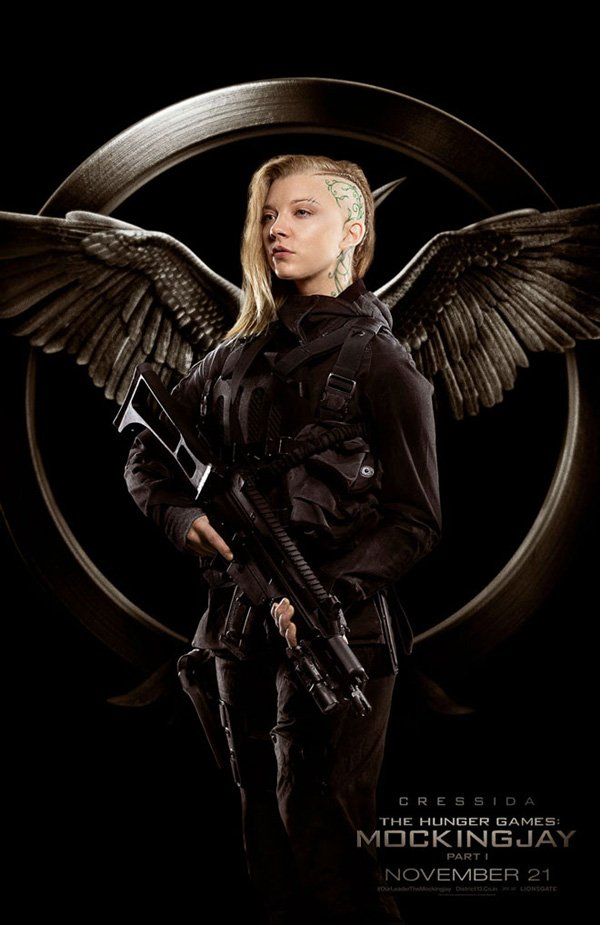 The Hunger Games Mockingjay Part 1 Cressida Poster