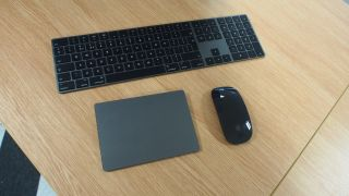 Apple Space Gray Mac accessories
