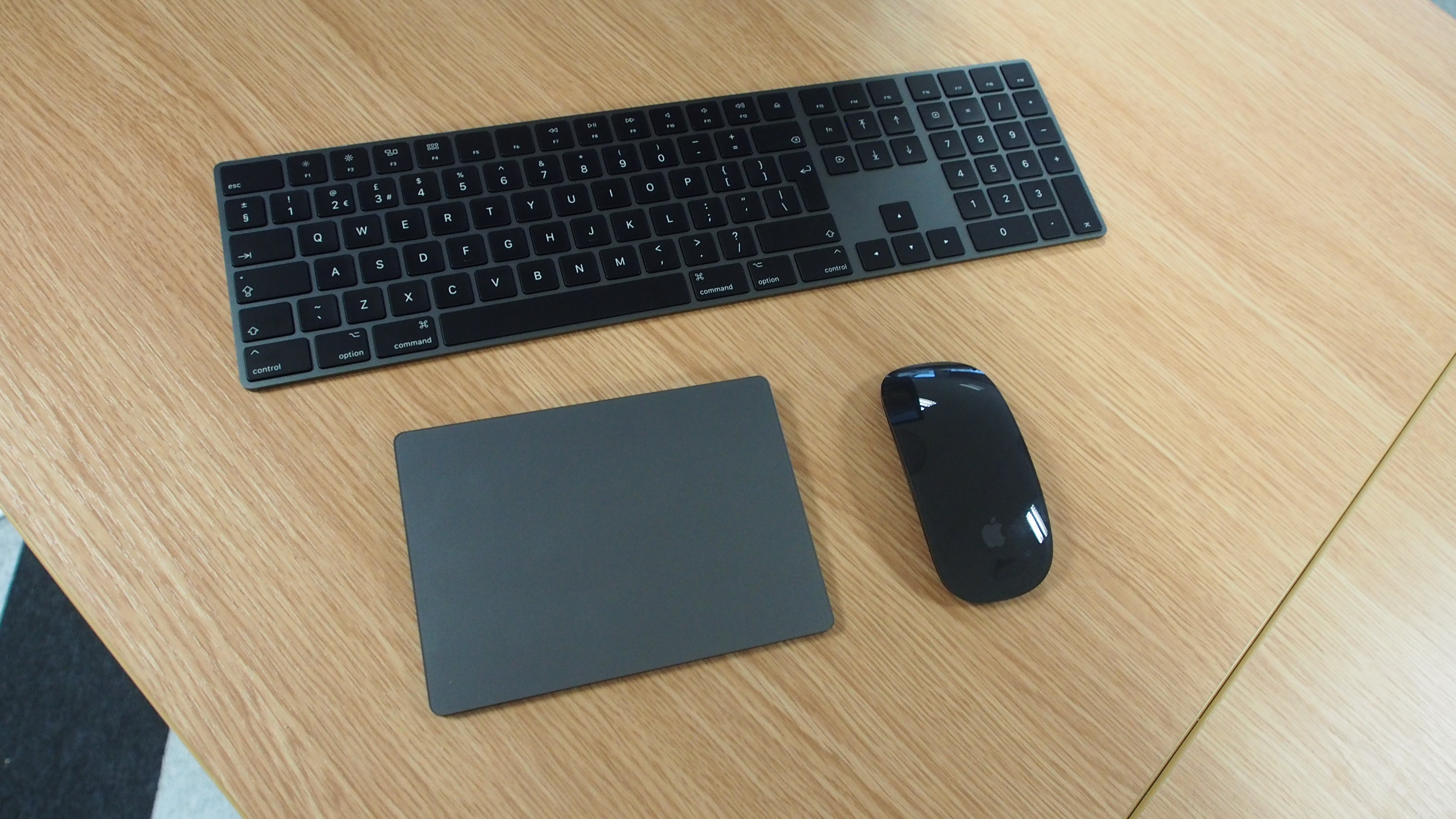 Apple S Space Gray Magic Mouse Keyboard And Trackpad Are Up For