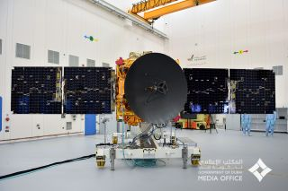 The UAE finished construction on its Hope spacecraft, bound for Mars, earlier this year.