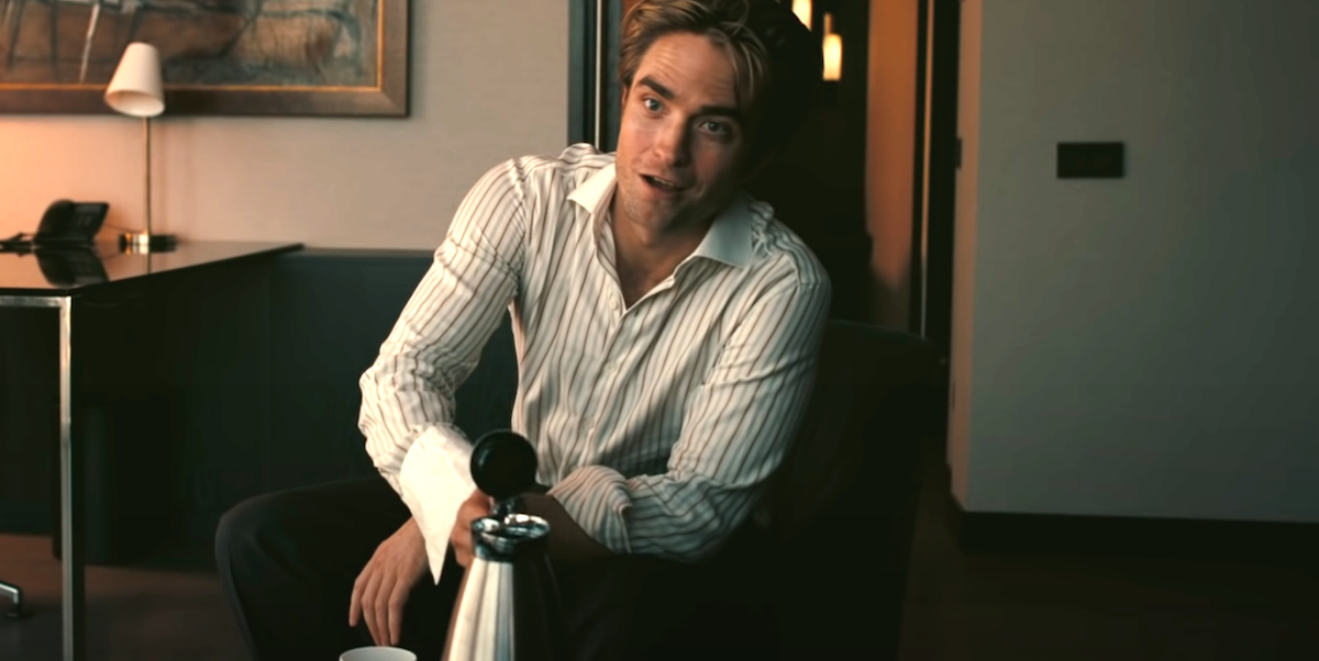 Robert Pattinson in Christopher Nolan's Tenet