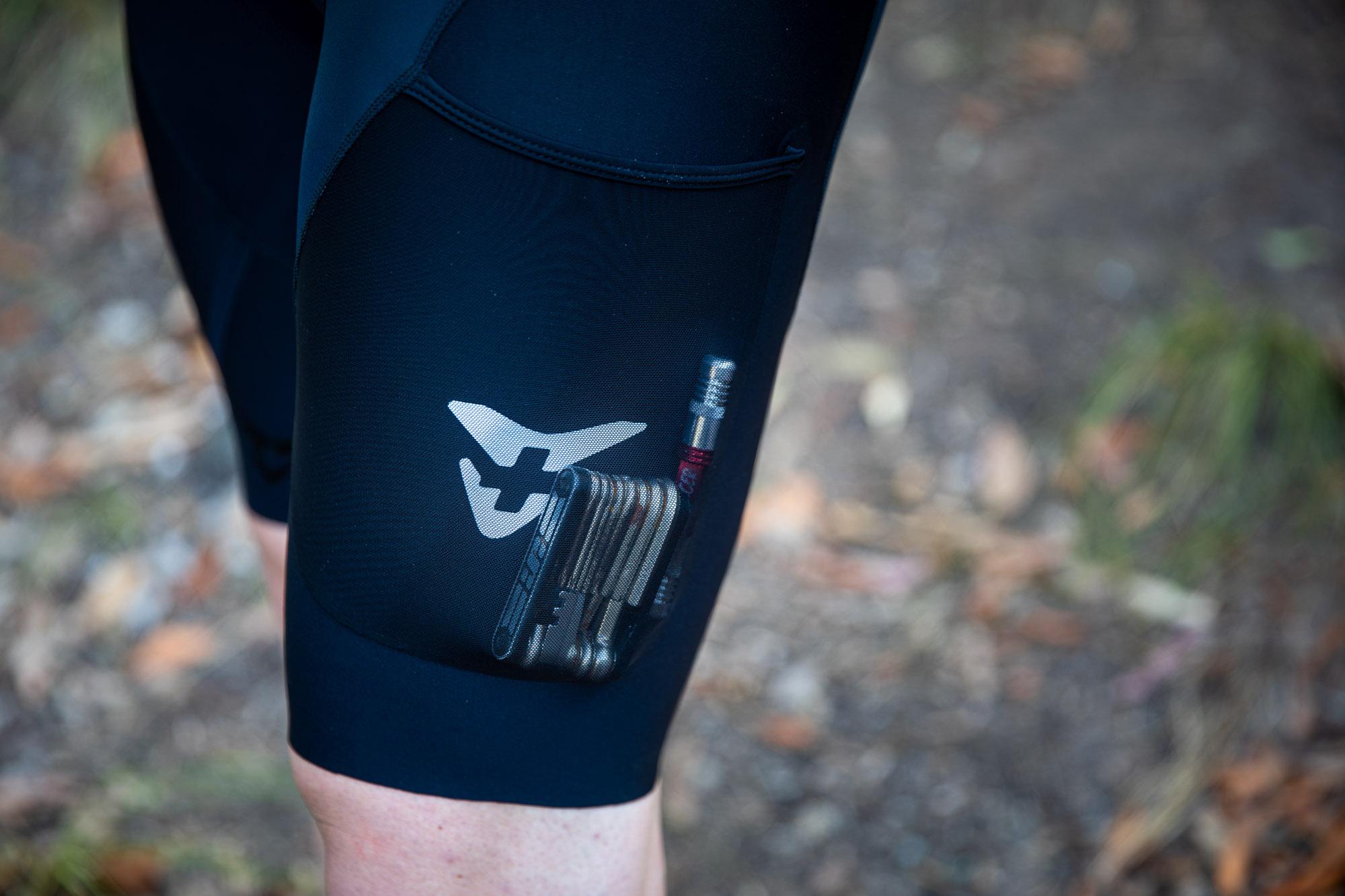 Cuore Pioneer cargo bib shorts