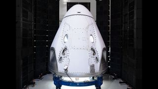 SpaceX's Crew Dragon vehicle.