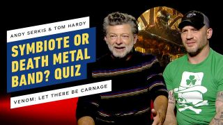 Tom Hardy and Andy Serkis in death metal quiz
