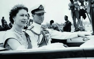 This documentary series looks at when Elizabeth became Queen