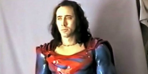 the craziest thing about tim burtons canceled superman