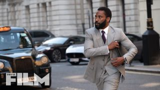 John David Washington in Christopher Nolan's Tenet