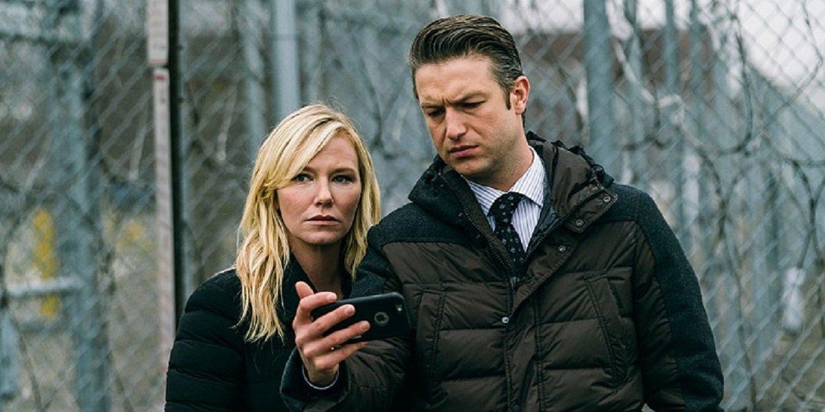Law and Order: SVU Rollisi scene in Season 21 finale