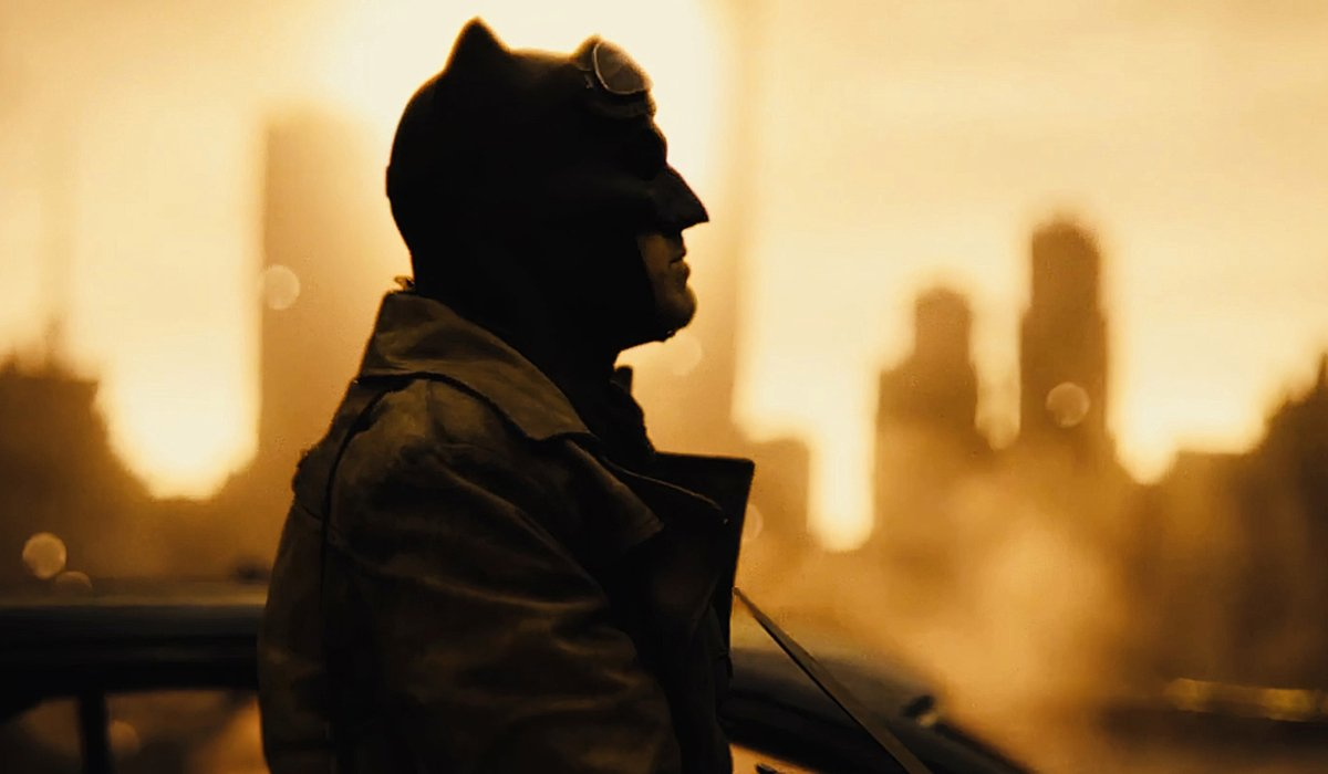 Ben Affleck walks the apocalypse in his Batsuit in Zack Snyder's Justice League