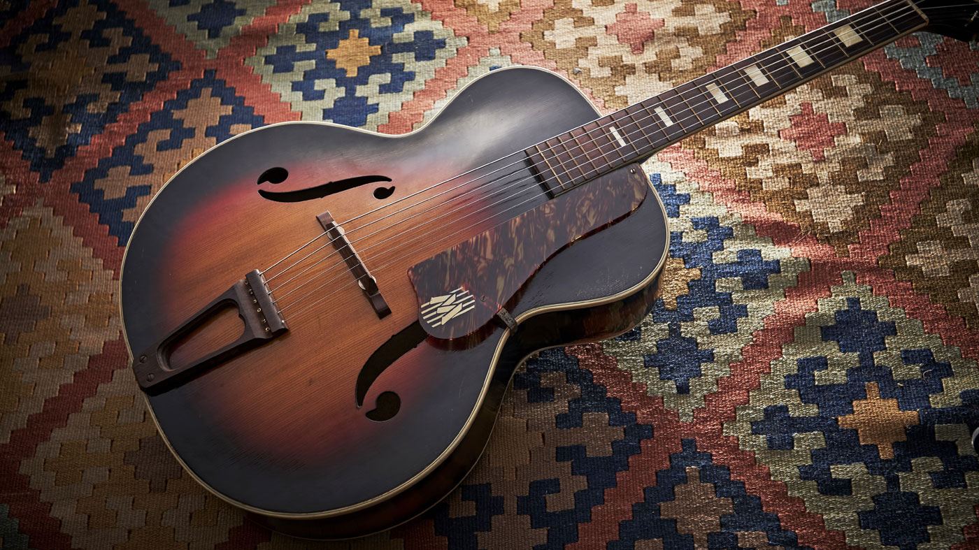 Old Gold 1945 Harmony Monterey H1456 Musicradar