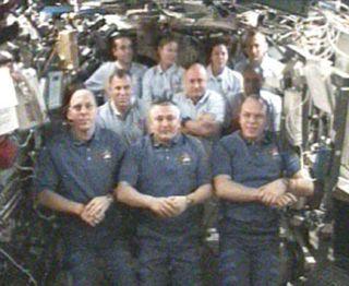 Shuttle Crew Confident Heat Shield Safe for Landing