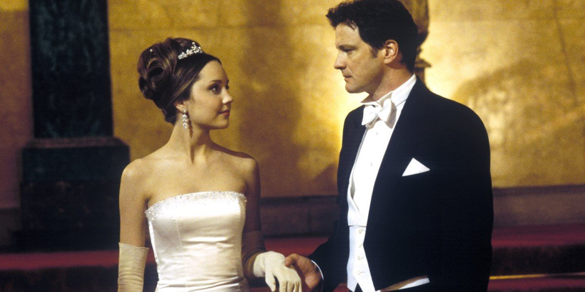 Colin Firth and Amanda Bynes in What A Girl Wants