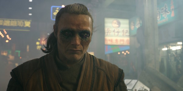 Mads Mikkelsen as Kaecilius in Doctor Strange
