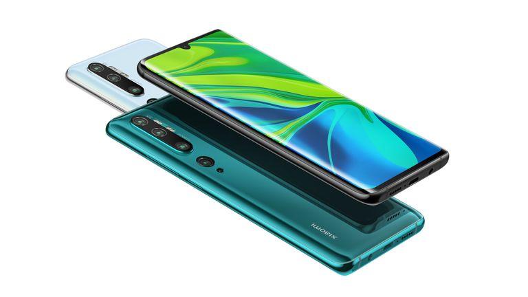 Samsung Galaxy Note 10 Xiaomi Mi Note 10