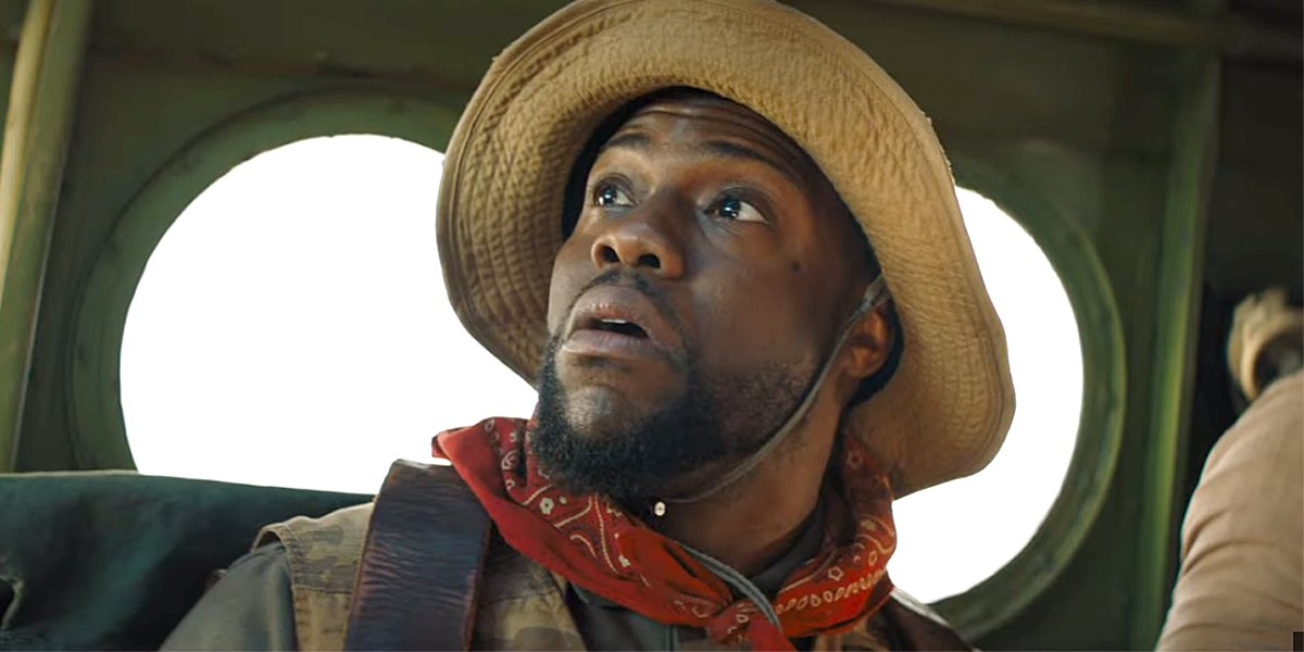 Kevin Hart in Jumanji: The Next Level