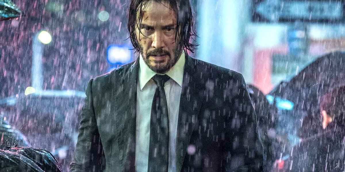 Keanu Reeves in John Wick Chapter 3 - Parabellum