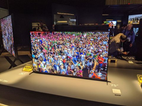 Sony Master Series Z8H 8K TV hands on