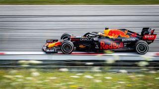 Max Verstappen Red Bullin kuskina