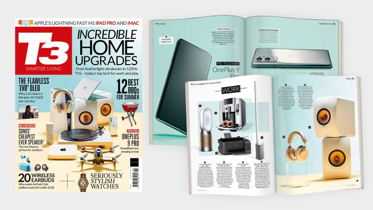 Cover of T3 issue 321 featuring the cover line 'Incredible home upgrades'.