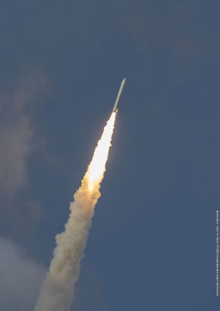 Arianespace Ariane 5 launch of Star One D1 and JCSat-15