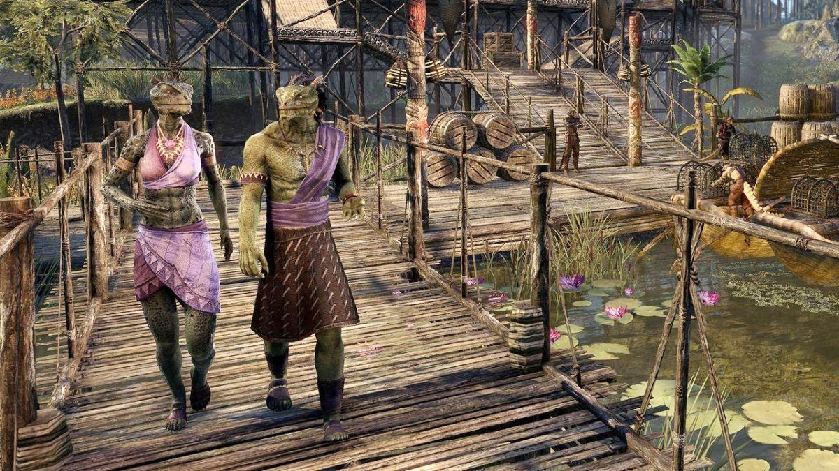 Elder Scrolls Online's Murkmire DLC is full of danger, puzzles, and... Argonian mating rituals