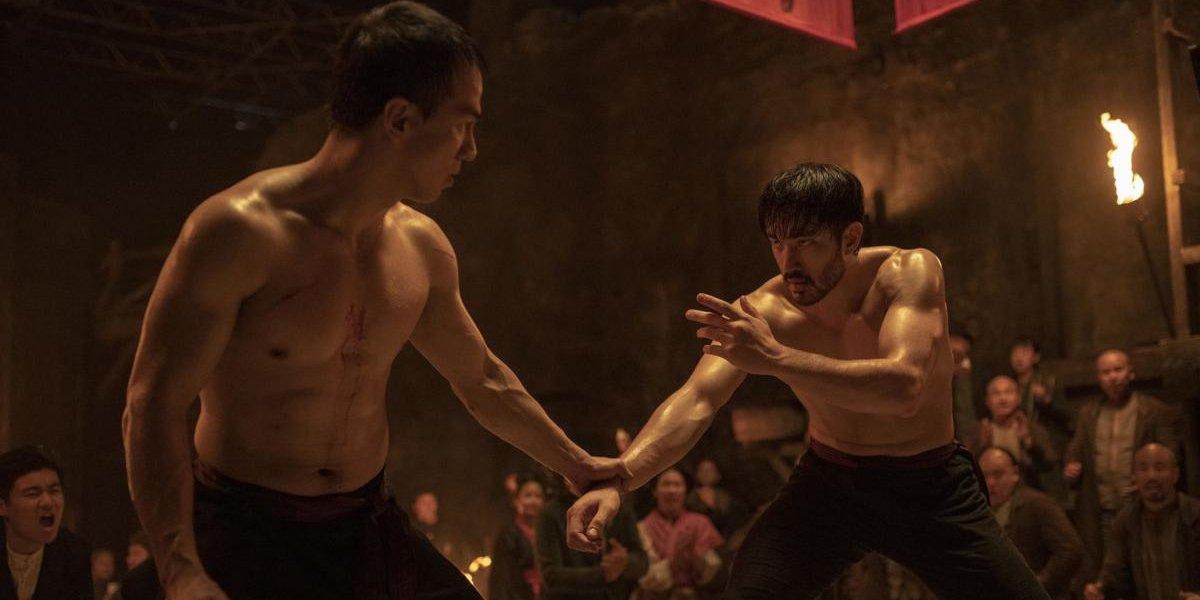 Joe Taslim and Andrew Koji in Warrior