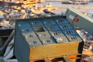 Sandy swamps shippers, but the cleanup is already under way